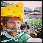 A Packers Fan AKA Cheesehead