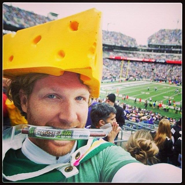 A Packers Fan AKA Cheesehead