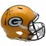 Aaron Jones Autographed Helmet